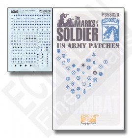 P353020 US Army Patches