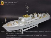 N35001 1/35 WWII British Vosper 72ft6in MTBs(MTBs 73-98,222-245)with Early Type Armament Configuration