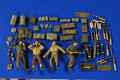 VP 2763 1:35 Scale 105mm Howitzer M101 WWII Crew-Ammo-Gear