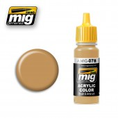 AMIG0078 OCHRE EARTH