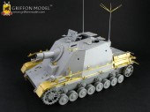 "L35022 1/35 WW II German Sd.Kfz.166 ""Brummbar"" Fighting Compartment Interior for Early/Mid Production"