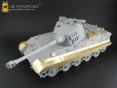 L35A005 1/35 WW II German KingTiger Tank's Kettenabdechung (Track Guards)