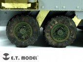 ER35-011 US ARMY Stryker Armored Vehicle Weighted Road Wheels